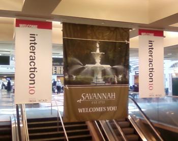 Leaving Savannah after Interaction 10