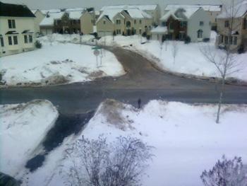 Snowed-in Neighborhood