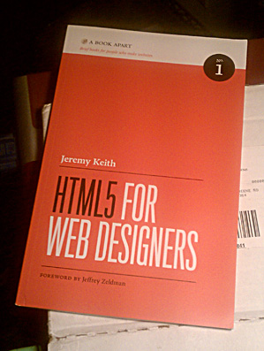 Package, Book - HTML5 For Web Designers