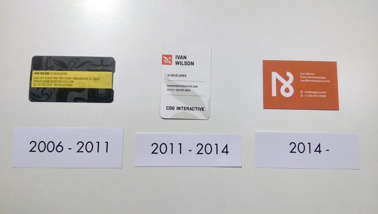 10 Year Anniversary at CDG/Innate (Business Cards)