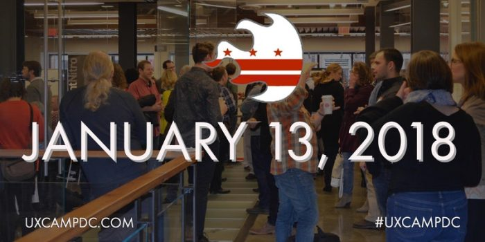 UX Camp DC 2018 - January 13, 2018